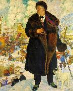 Boris Kustodiev Fiodor Shaliapin oil painting picture wholesale