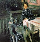 Boris Kustodiev Julia Kustodieva oil painting picture wholesale