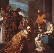 CAJES, Eugenio The Adoration of the Magi f oil painting