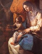 CAJES, Eugenio The Adoration of the Magi (detail) fd oil painting