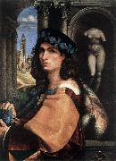CAPRIOLO, Domenico Portrait of a Man df oil painting