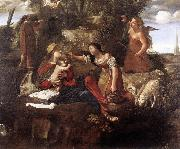 CAROSELLI, Angelo Rest on the Flight into Egypt dfg oil painting picture wholesale