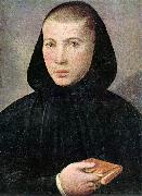 CAROTO, Giovanni Francesco Portrait of a Young Benedictine g oil painting artist