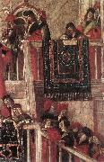 CARPACCIO, Vittore Meeting of the Betrothed Couple (detail) dfg oil painting picture wholesale