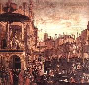 CARPACCIO, Vittore The Healing of the Madman fdg oil painting picture wholesale