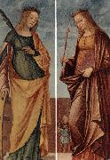 CARPACCIO, Vittore St Catherine of Alexandria and St Veneranda dfg oil painting picture wholesale