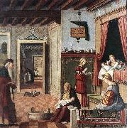 CARPACCIO, Vittore Birth of the Virgin fg oil painting picture wholesale