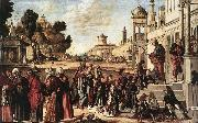 CARPACCIO, Vittore St Stephen is Consecrated Deacon  dsf oil painting picture wholesale