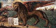 CARPACCIO, Vittore The Lion of St Mark (detail) dsf oil painting picture wholesale
