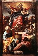 CARRACCI, Annibale Assumption of the Virgin Mary dfg oil painting picture wholesale