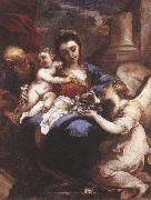 CASTELLO, Valerio Holy Family with an Angel fdg oil painting artist