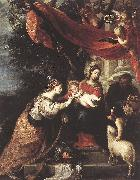 CEREZO, Mateo The Mystic Marriage of St Catherine klj oil