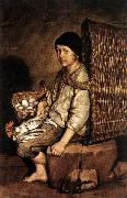CERUTI, Giacomo Boy with a Basket France oil painting reproduction