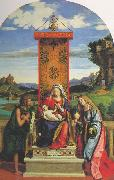 CIMA da Conegliano The Madonna and Child with St John the Baptist and Mary Magdalen dfg oil painting picture wholesale