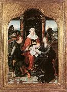 CLEVE, Joos van St Anne with the Virgin and Child and St Joachim gh oil painting picture wholesale