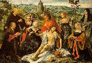 CLEVE, Joos van Altarpiece of the Lamentation (central) dfg oil painting picture wholesale