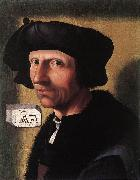 CORNELISZ VAN OOSTSANEN, Jacob Self-Portrait dfgd oil painting picture wholesale