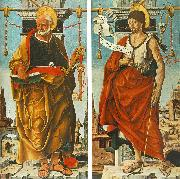 COSSA, Francesco del St Peter and St John the Baptist (Griffoni Polyptych) drg oil painting picture wholesale