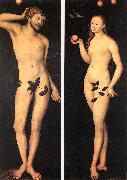 CRANACH, Lucas the Elder Adam and Eve fh oil painting picture wholesale