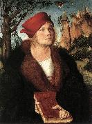 CRANACH, Lucas the Elder Portrait of Dr. Johannes Cuspinian ff oil painting picture wholesale