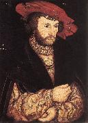 CRANACH, Lucas the Elder Portrait of a Young Man dfg oil painting picture wholesale