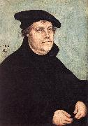 CRANACH, Lucas the Elder Portrait of Martin Luther dfg oil painting picture wholesale