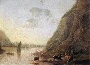 CUYP, Aelbert River-bank with Cows sd oil painting picture wholesale