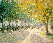 Camille Pissaro Hyde Park, London oil painting picture wholesale