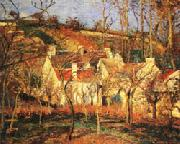 Camille Pissarro Red Roofs1 Village Corner oil