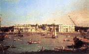 Canaletto London: Greenwich Hospital from the North Bank of the Thames d oil painting picture wholesale