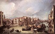 Canaletto Grand Canal: Looking North-East toward the Rialto Bridge ffg oil painting picture wholesale
