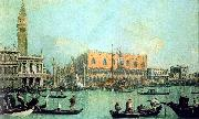 Canaletto Veduta del Palazzo Ducale France oil painting reproduction