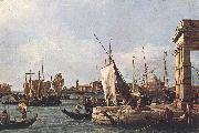 Canaletto La Punta della Dogana (Custom Point) dfg oil