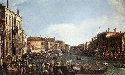 Canaletto A Regatta on the Grand Canal d oil painting picture wholesale