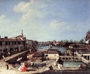 Canaletto Dolo on the Brenta df oil painting picture wholesale