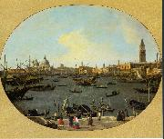 Canaletto Venice Viewed from the San Giorgio Maggiore ds oil