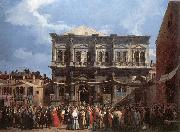 Canaletto The Feast Day of St Roch fd oil