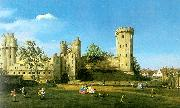 Canaletto Warwick Castle, The East Front France oil painting reproduction