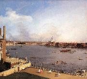 Canaletto London: The Thames and the City of London from Richmond House g oil painting picture wholesale