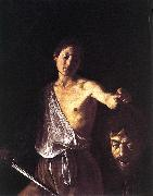 Caravaggio David dfg oil painting picture wholesale