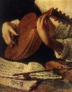 Caravaggio Lute Player (detail) gg oil painting picture wholesale