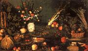 Caravaggio Still Life with Flowers Fruit France oil painting reproduction