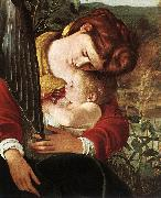 Caravaggio Rest on Flight to Egypt (detail) fg oil painting picture wholesale