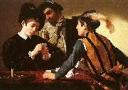 Caravaggio The Cardsharps oil painting picture wholesale