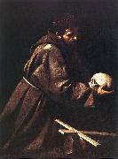 Caravaggio St Francis dfgd oil painting picture wholesale