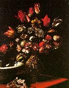 Carlo  Dolci Vase of Flowers oil painting picture wholesale