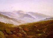 Caspar David Friedrich Riesengebirge oil painting picture wholesale