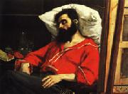 Charles Carolus - Duran The Convalescent ( The Wounded Man ) oil painting artist