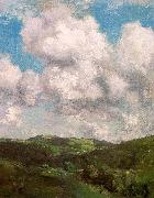 Charles Harold Davis Clouds and Shadow oil