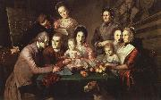 Charles Wilson Peale The Peale Family oil painting picture wholesale